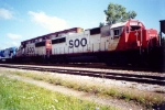 SOO SD60`s seen after the NS takeover