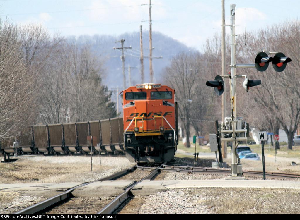 Westbound BNSF Coal DPU
