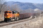 Eastbound BNSF Iron Ore Train with a sweet SD70ACe Leader