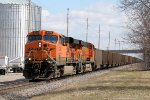 Westbound BNSF Coal on the CP