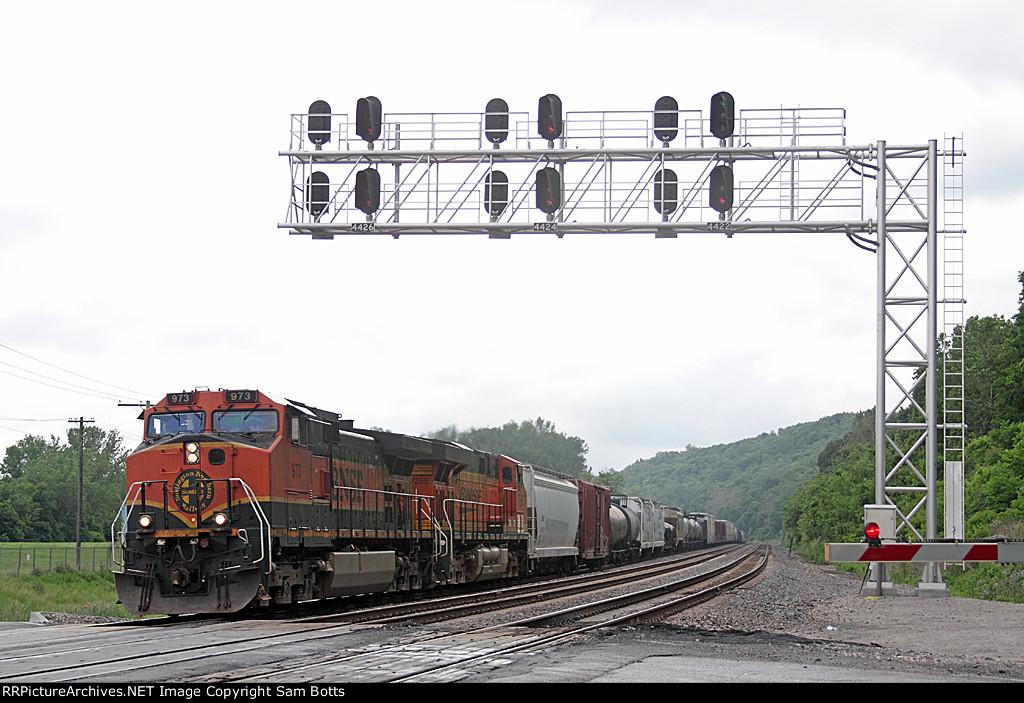 BNSF 973