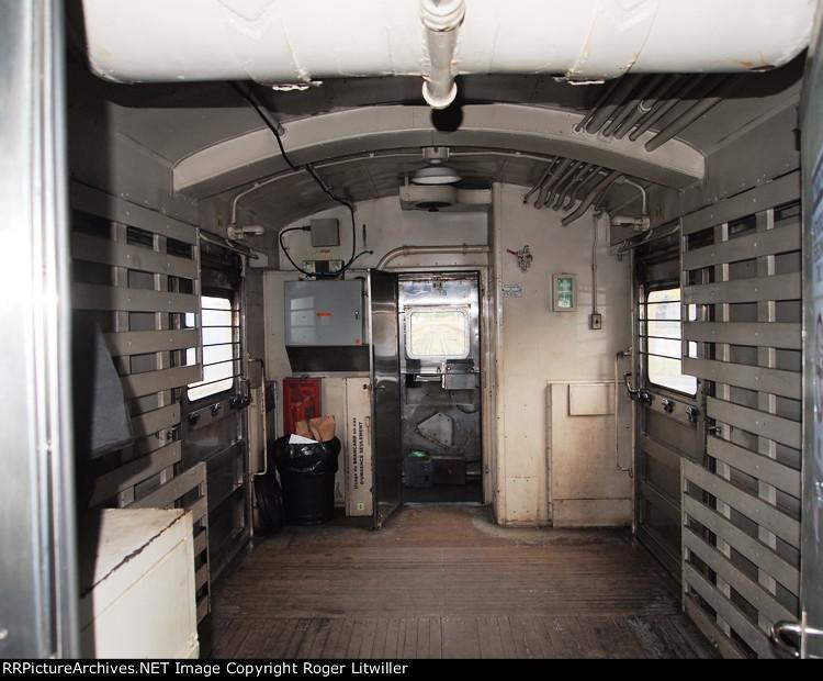Interior of VIA 6215