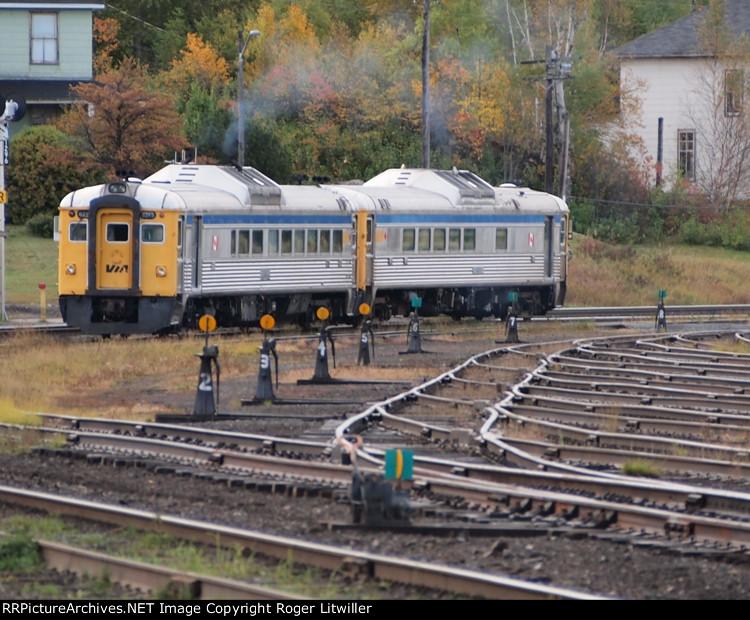 VIA Train at White River, Ontario