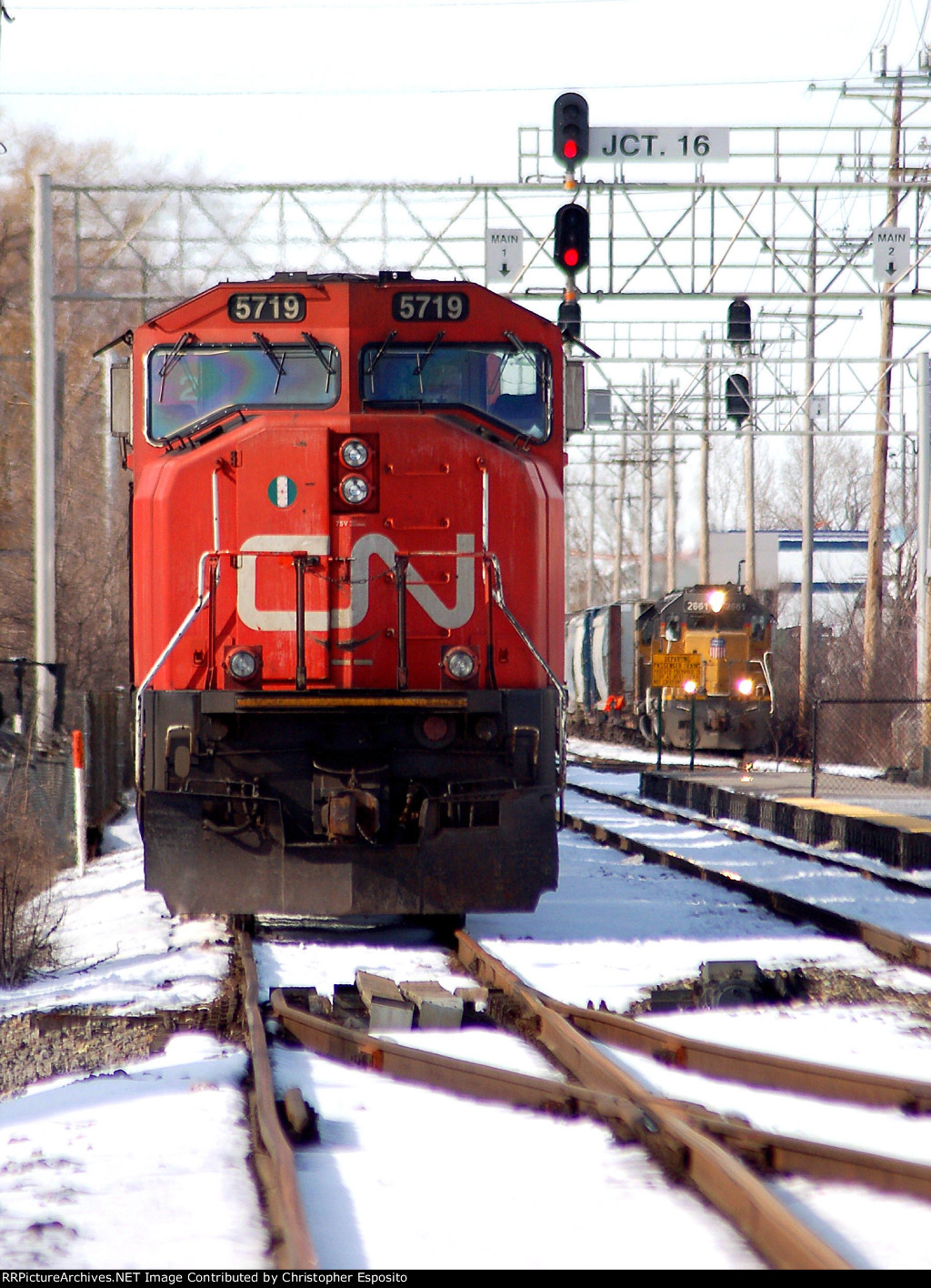 CN SD75I 5719