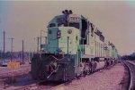 O&W Hopper Train