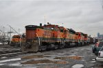 BNSF 3436 at Stacy St. Yard
