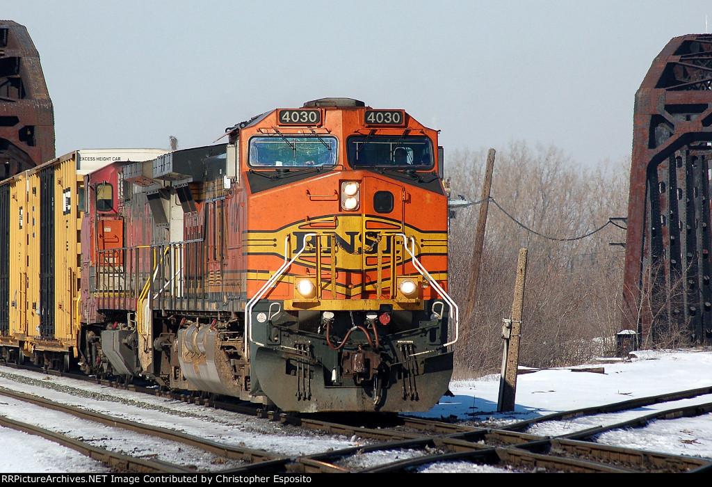 BNSF 9-44CW 4030