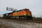 BNSF 4738, Saturday morning Eastbound