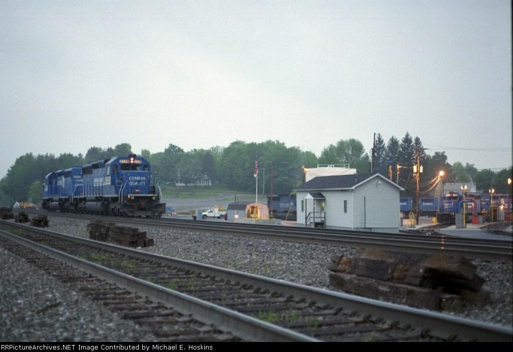 NS 3338 & engine terminal