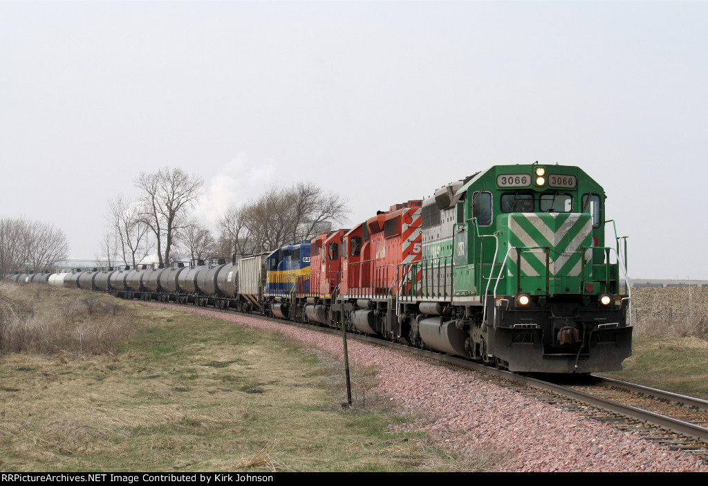Eastbound CITX Loaded Ethanol