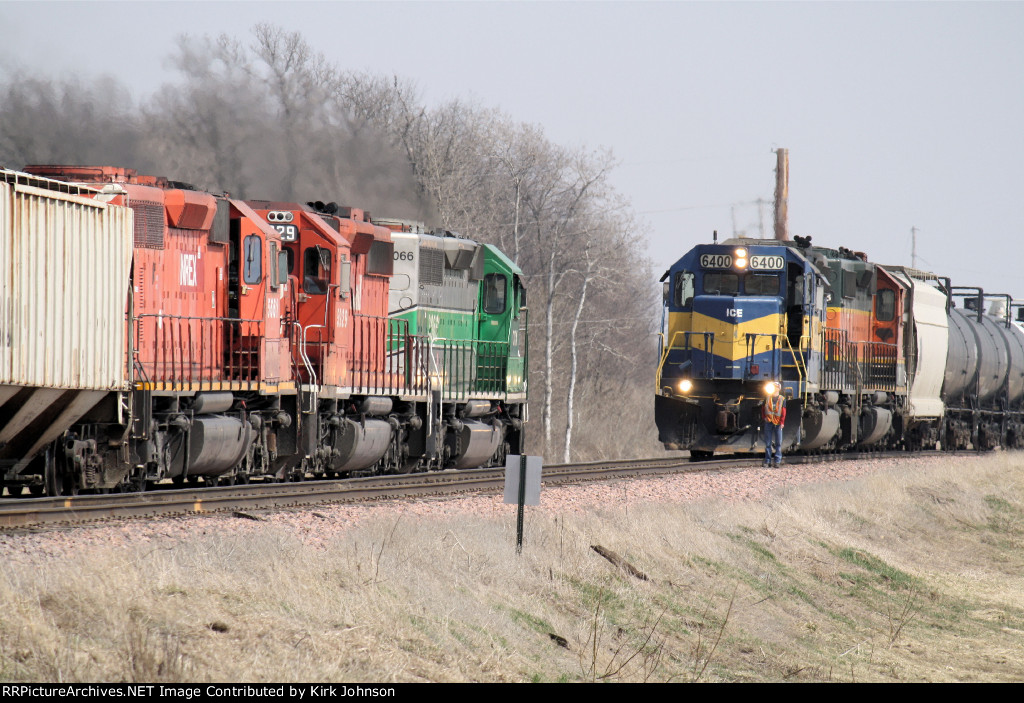 Eastbound and Westbound Meet