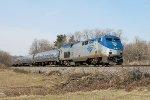 Amtrak 705 on P-284