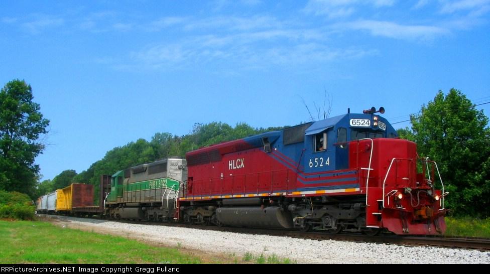 Q326-01 leaves the siding