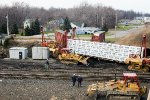 Cleanup is underway after a CSX Derailment at CP128