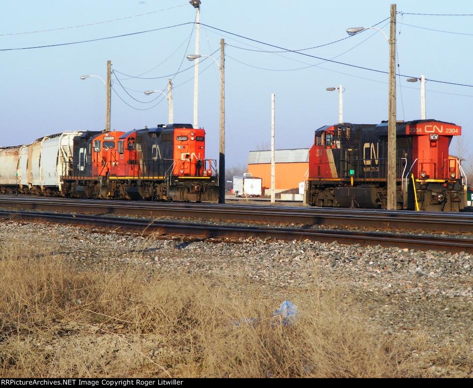 Belleville CN Yard