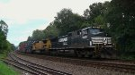 NS 24Z with once again another UP standard cab dash 8