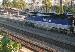 450 leading an Amtrak train our of Fullerton Station