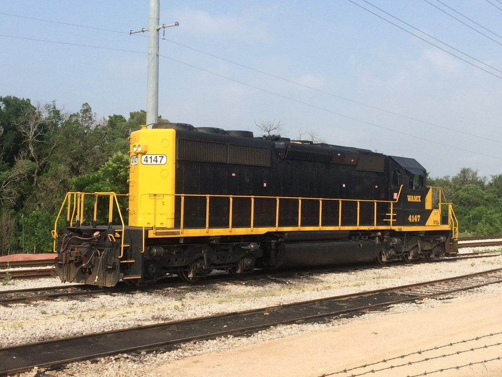 WAMX 4147  18May2015   In CapMetro's Abbot Yard
