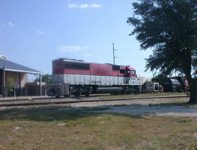 WAMX 5108  20Jun2008  In Austin and Texas Central Yard