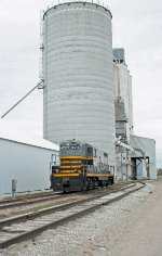 BRC 473 at the grain mill