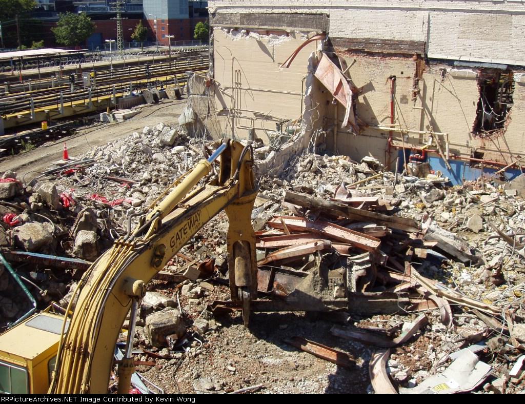 1928 Corona Shop being demolished