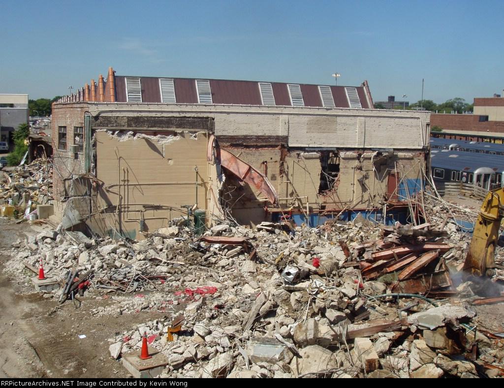 Corona Shop being demolished
