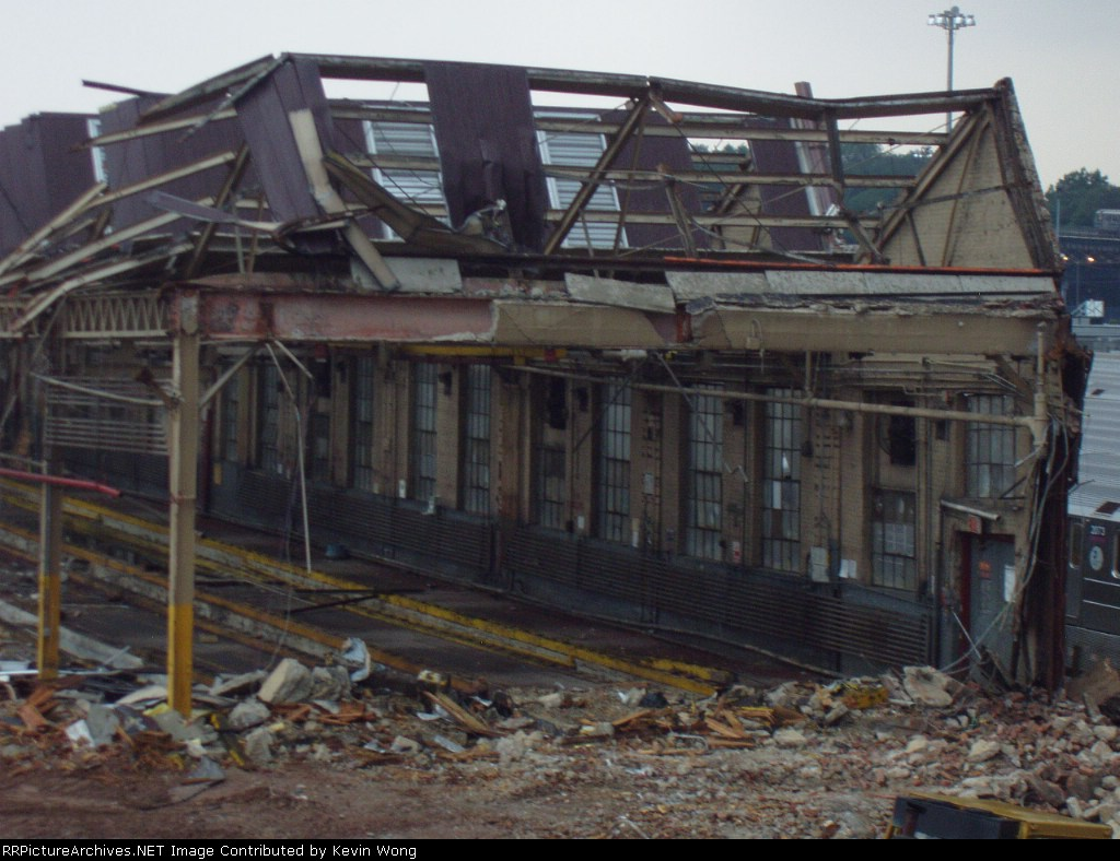 1928 Corona Shop, partly torn down