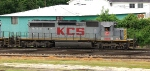 KCS 3208 going down the Wilson Alley grade