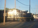 CSX 2505 working on a local this evening