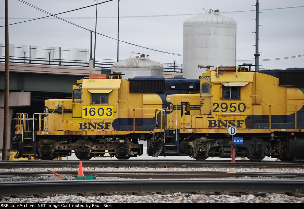 BNSF 2950 & BNSF 1603 On Standby