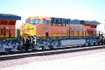 BNSF 6667 heads westward as the #3 unit behind her sister C4 BNSF 6662 as they pull a LA Bound Z Train.