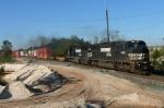 NS Detour on CSX Rails