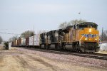 Eastbound UP Freight with UP ACe Leader and 2 NS Helpers