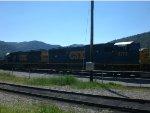 CSX 8773 and 8637 yard
