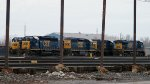CSX YN3's in Frontier Yard