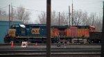 CSX 8406 & BNSF 5282 in Frontier Yard