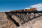 BNSF 7839 Diablo Canyon Bridge