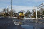 Big locomotives, short train