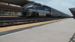 Amtrak 578 departs for San Diego