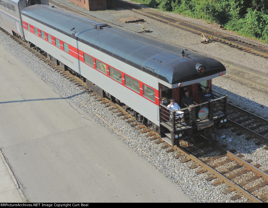 Amtrak 800279 Silver Foot