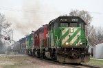 Westbound NREX Freight