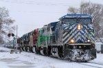 Westbound CEFX Freight