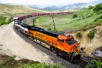 BNSF 7321 at Tunnel #2
