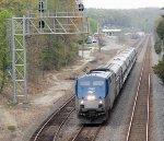 Amtrak 158 in Lorton, VA