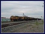 LORAM Rail Grinder at Gooding, Idaho
