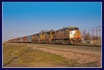 Westbound UP Stacker at MP-351, Bliss, Idaho