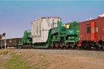 UP High & Wide load at Gooding, Idaho