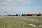 UP High & Wide train at Gooding, Idaho