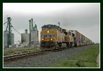 Eastbound Stacker at the Grain Facility