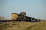 UP westbound stack train at Bliss, Idaho